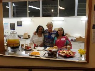 Fiji Fundraiser - Unity in Diversity festival - kitchen counter